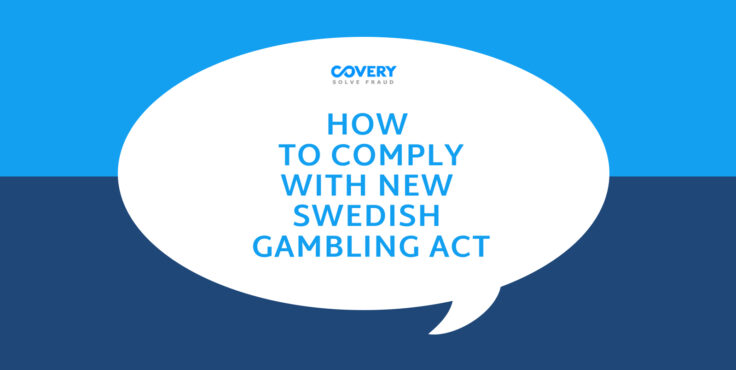 How to comply with a new Swedish Gambling Act?