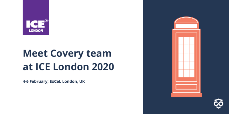 iGaming Fraud Prevention: Covery exhibiting at ICE London 2020 🤩